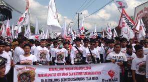 Foto Aksi Tolak Reklamasi Teluk Benoa Di Badung Utara (3)