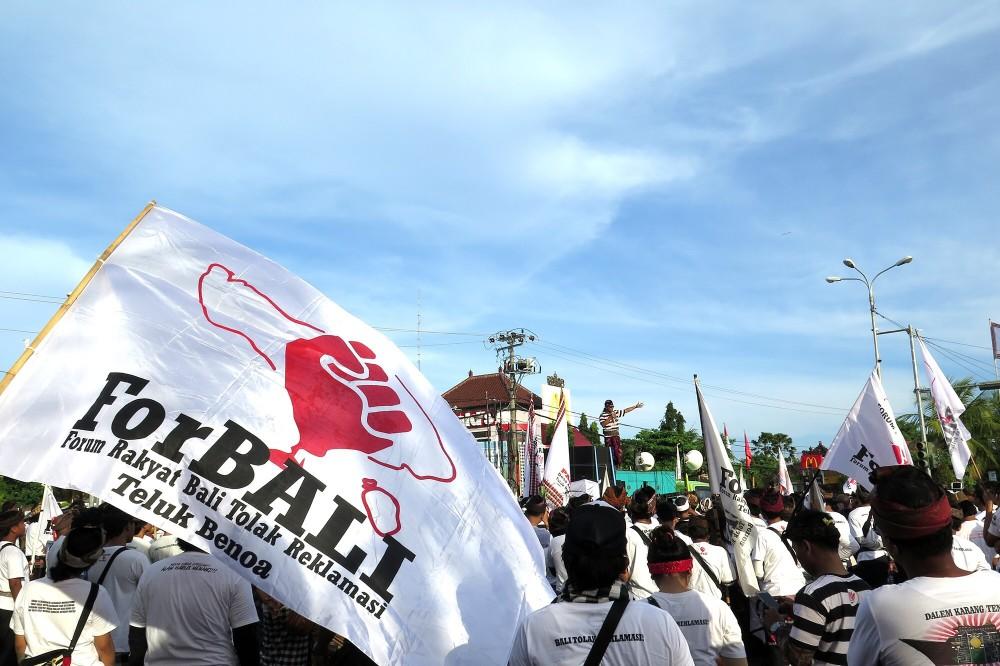 Foto Aksi Penolakan Reklamasi Teluk Benoa di Desa Adat Intaran 7 Mei 2017 (3)