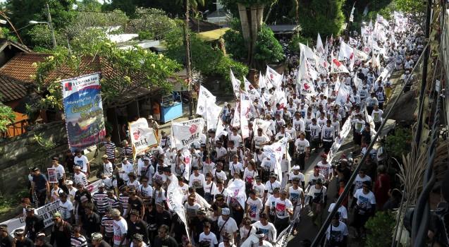 Foto Aksi Penolakan Reklamasi Teluk Benoa di Desa Adat Intaran 7 Mei 2017 (4)
