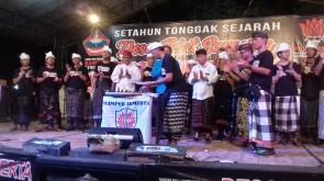 Perayaan ulang tahun tolak reklamasi Desa Adat Sumerta