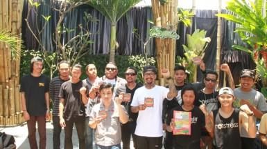 foto bareng musisi di album kompilasi #BaliBergerak