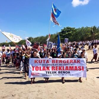 Kuta Bergerak Tolak Reklamasi Teluk Benoa (1)