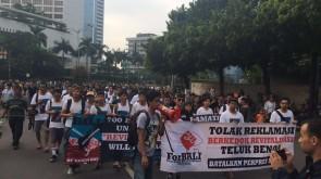 Foto Aksi Tolak Reklamasi Teluk Benoa di Jakarta (1)