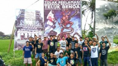 Warga Sukawati Peringati 1 tahun deklarasi penolakan reklamasi Teluk Benoa