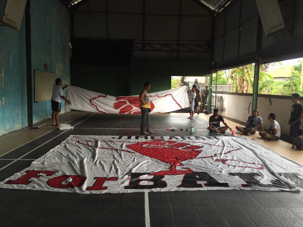 Foto Pengibaran Bendera ForBALI di Jimbaran, 18 Juni 2017 (2)