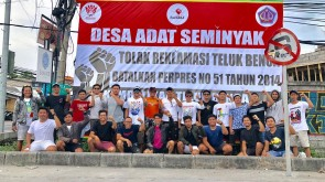 2019-01-27- dokumentasi rillis-Serentak FAN Seminyak, Forum Pemuda Karangasem dan ST Elang Pasang Baliho BTR, Siap Lawan Izin Lokasi Susi Pudjiastuti (1)