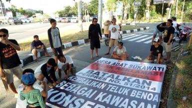 2019-02-24-dokumentasi rilis-Desa Adat Sukawati Dirikan Baliho BTR, Siap Berjuang Lagi (1)